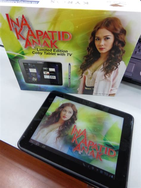 Tablet Anak coby offers limited edition quot ina kapatid anak quot mid8011 tablet with tv hardwarezone ph