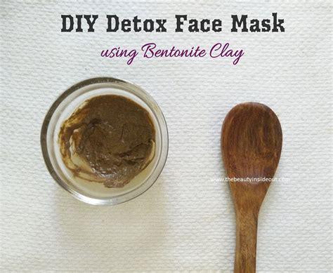 Detox Mask Diy by Diy Detox Mask Using Bentonite Clay