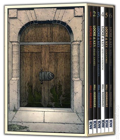 locke key slipcase set locke and key 6 volume tpb slipcase set 2014 idw