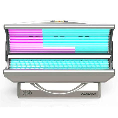 esb tanning bed esb avalon 32 tanning bed 120v lowest price and free
