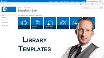 sharepoint 2013 document library templates youtube