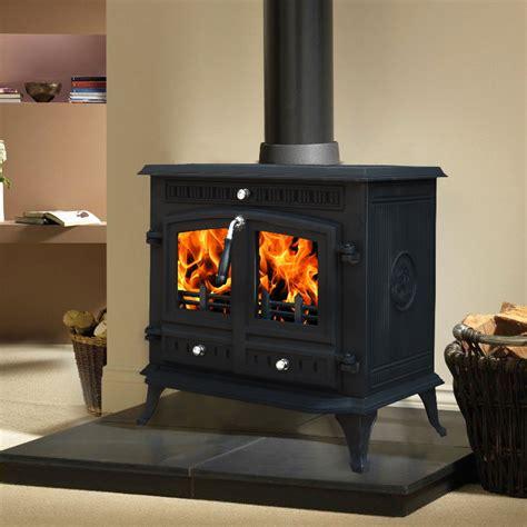 Wood Burning Stove Mats by 12kw Branston Cast Iron Log Burner Multifuel Woodburning