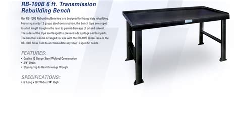 transmission bench transmission rebuilding bench workshop pinterest benches