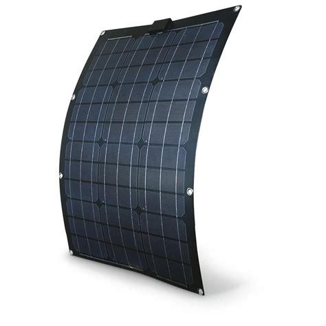 solarl fles 50 watt semi flex solar panel 607581 solar panels