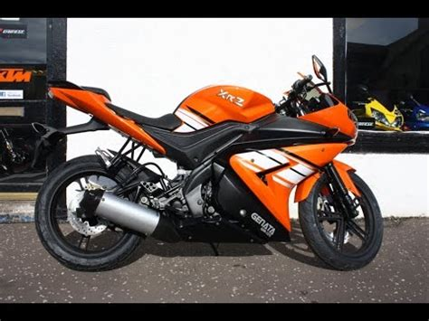 125er Sport Motorrad by Genata Xrz 125cc Sports Bike Orange