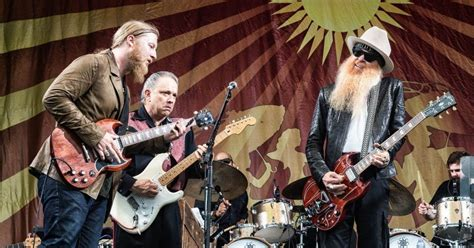 tedeschi trucks band welcomes jimmie vaughan billy gibbons  jazz fest