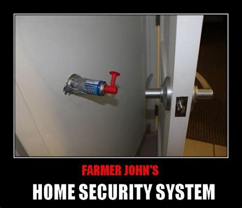 home security system security humor home