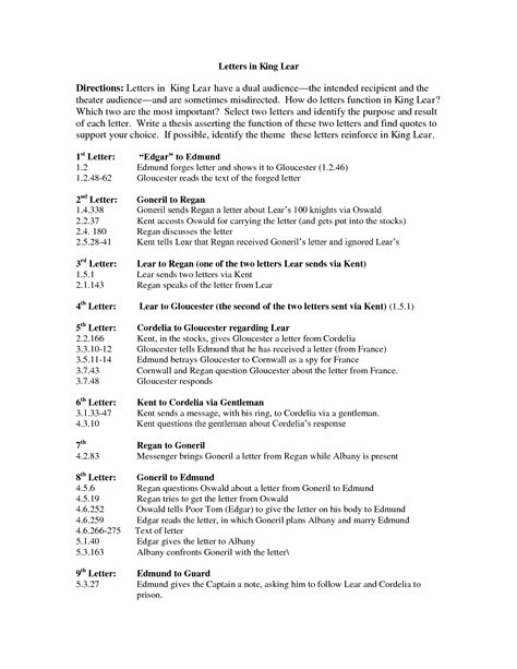 King Lear Essays by Betrayal In King Lear Essay Educationcoursework X Fc2