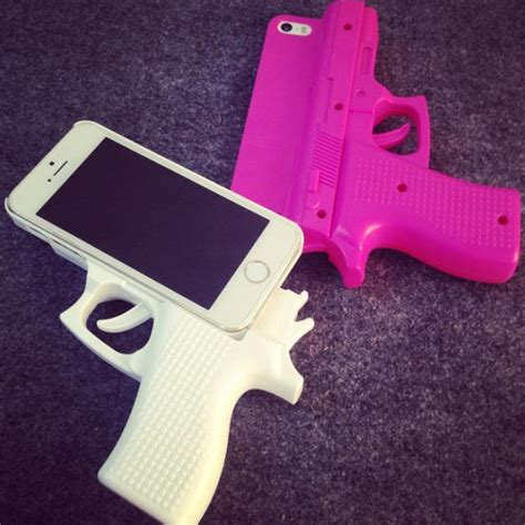 Softcase 3d Original Apple Iphone 4g 4s Original 3d gun shape shell protective cover for