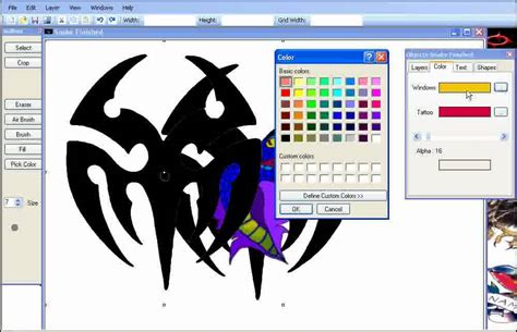 tattoo design program designs software