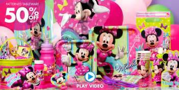 minnie mouse supplies minnie mouse birthday ideas