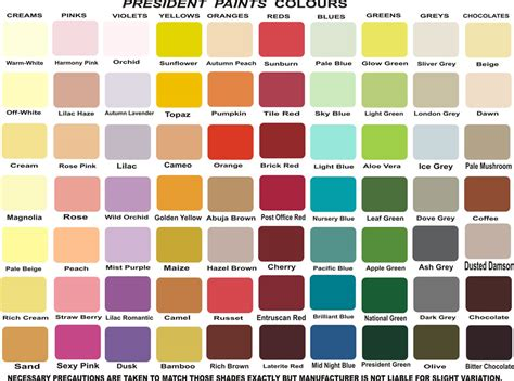 paint colour chart 25 unique paint colour charts ideas on color charts ratelco