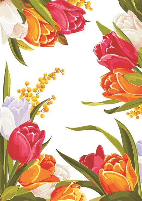 beautiful graphic design flower graphic design colored beautiful flowers design