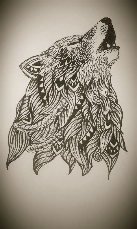 zentangle tattoo zentangle wolf https www mardepedres