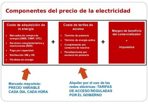 el precio de la un poco de luz sobre el precio de la electricidad en espa 241 a j m yus