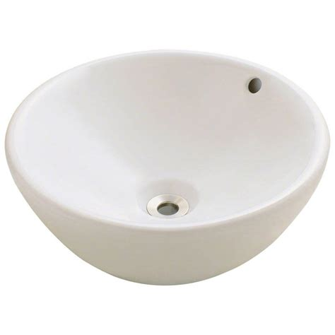 bisque bathroom sink polaris sinks porcelain vessel sink in bisque p0022v b