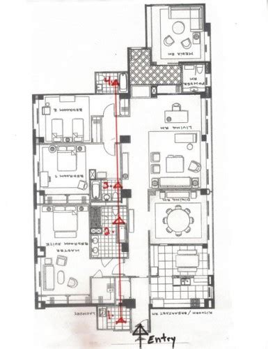 feng shui floor plan spotting feng shui challenges in floor plans part 2