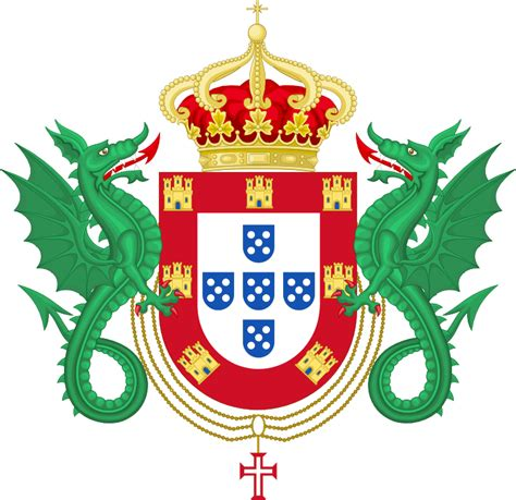 file coat of arms of the kingdom of portugal 1640 1910