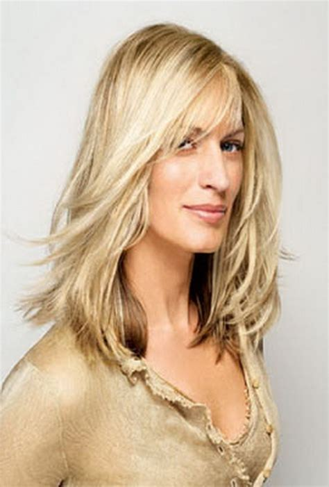photos hair mid length 40 plus best hairstyles for women over 40