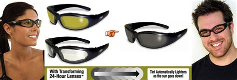 lenses that change with light chicago 24 light changinglens motorcycle sunglasses by