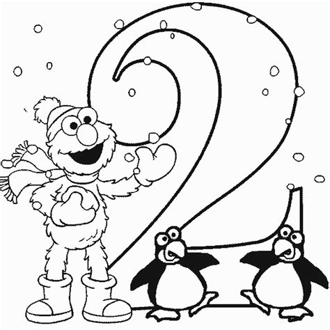 Personal Happy 2nd Birthday Holt White Cabana White Cabana Elmo Birthday Coloring Pages