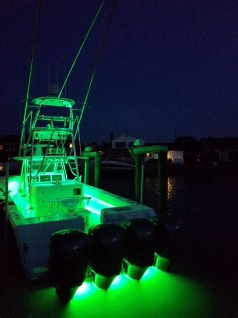 boat lights show color changing led underwater lights sync with your boat