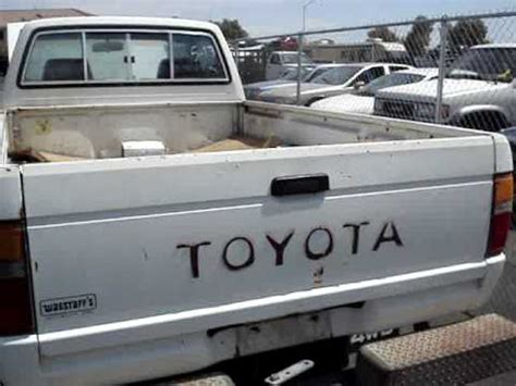 1985 Toyota Front Axle 1985 Toyota 4x4 Solid Front Axle Low Truck