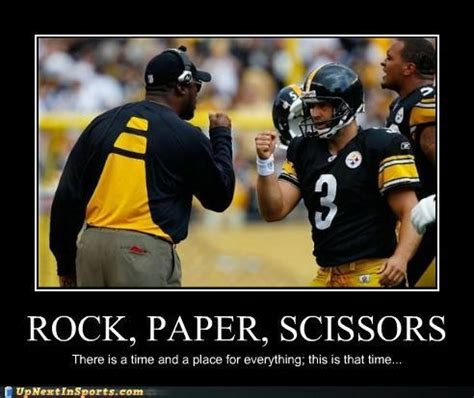 Steelers Meme - haha rock paper scissors steelers steelers