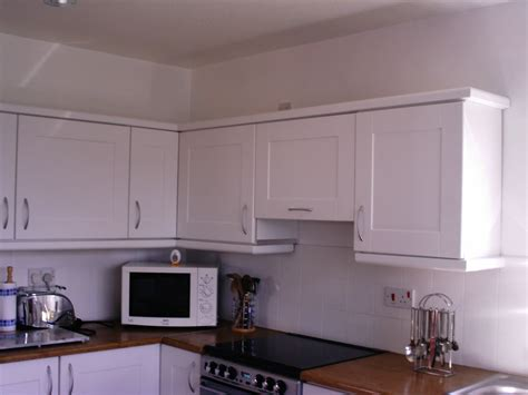 Kitchen Without Cornice by Rev Images