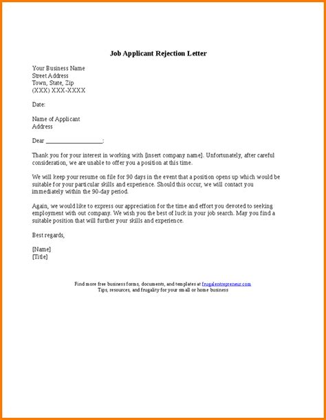 authorization letter handwritten rejection letter template authorization letter pdf