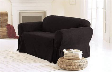 black couch slipcover black sofa slipcover sofa couch slipcovers the best deals