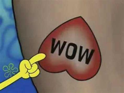 spongebob wow edition