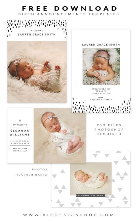 free birth announcements templates best 25 birth announcement pictures ideas on