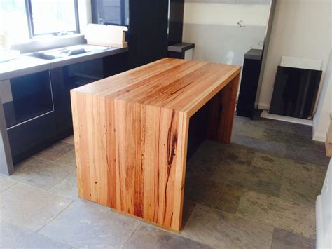 Black Island Kitchen by Furniture Design Blog Recycled Timber Furniture Blog