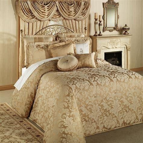gold coverlet king regent gold oversized bedspread bedding antique gold
