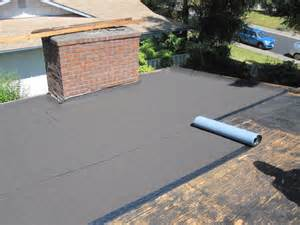 Flat Roof Installation Taking Advantage Of Contemporary Flat Roofing Resources