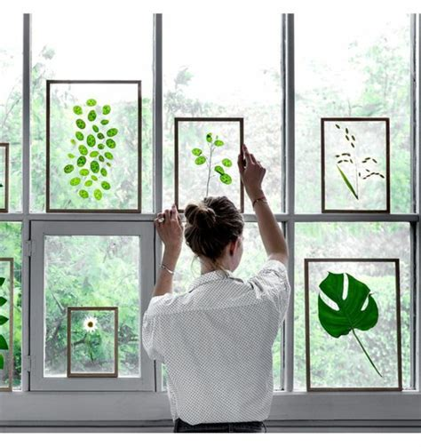 Fensterbrett Deko Ostern by 1001 Ideen F 252 R Fensterdeko Sommer Zum Selber Machen