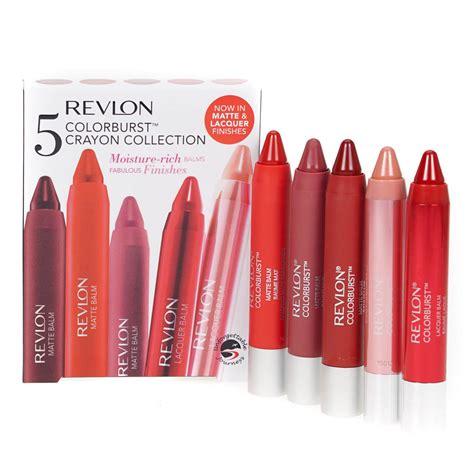Shijing Lip Balm Crayons revlon 5 color burst crayon set moisture rich chunky lip balm stain gift for ebay
