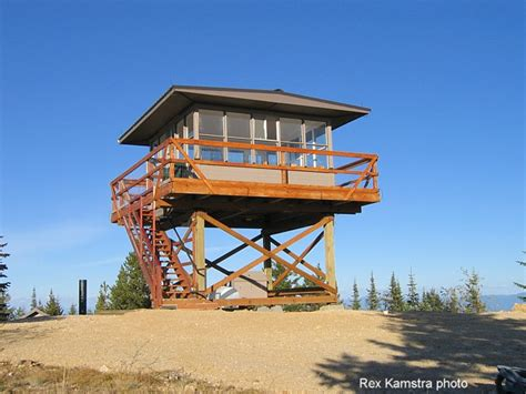 fire lookout tower plans any ideas on how to start building this fire lookout