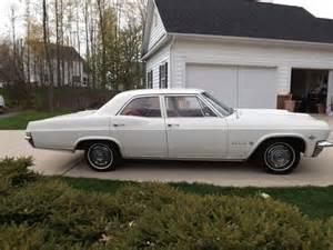 sell used 1965 chevrolet impala 4 door sedan absolute