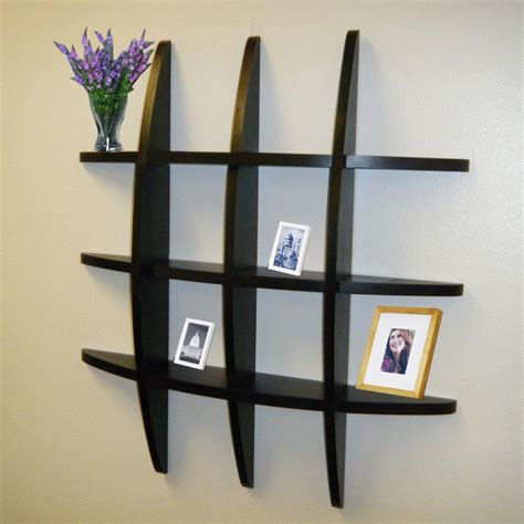 Modern Display Cabinet by Diy Living Room Shelf Ideas Wall Shelves Awesome