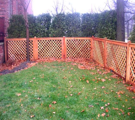 Design For Lattice Fence Ideas Product