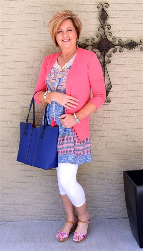 what is in style for a 50 year woman this spring blue white and floral 50th floral and spring