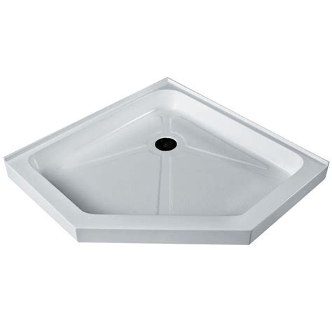 36 Shower Base by Vigo White Shower Tray 36 Inch By 36 Inch Neo Angle Low