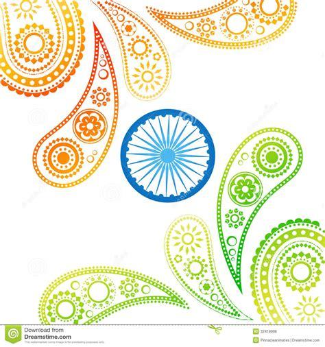 indian design stylish indian flag royalty free stock photos image