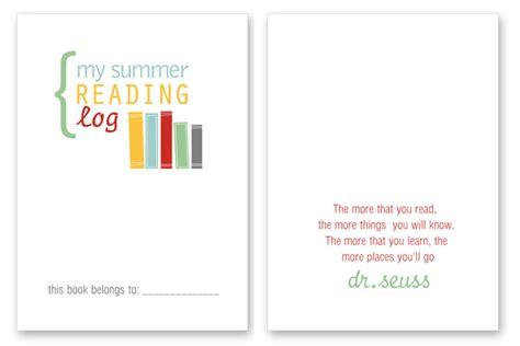 summer reading log template printable summer reading log for