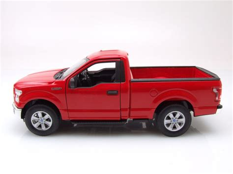 2015 Ford F 150 Regular Cab by Ford F 150 Regular Cab Up 2015 Rot Modellauto 1 24