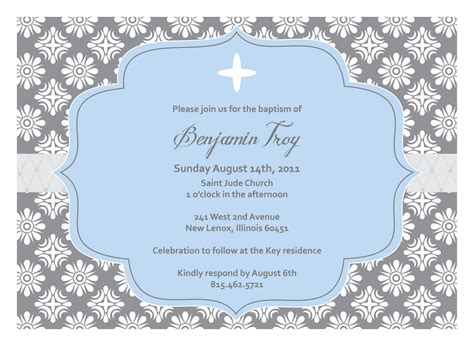Free Printable Christening Invitation Card Templates by Christening Invitation Blank Template Baptism