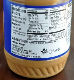 Planters Peanut Butter Nutrition Facts 30 day noheat challenge sheunplugged