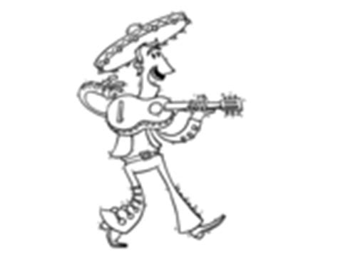 mariachi guitar coloring page italy coloring page coloringcrew com